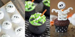 31 Cute Halloween Cupcakes Easy Recipes For Halloween Cupcake Ideas