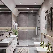 T House In Ukraine Beautiful Bathroom Designs Modern Bathroom Modern Bathroom Design