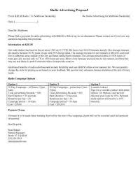 Advertising Proposal Template Custom 48 Sample Proposal Templates In Microsoft Word