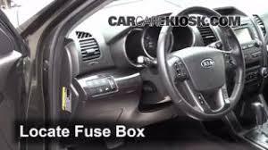 interior fuse box location 2011 2013 kia sorento 2012 kia 2011 2013 kia sorento interior fuse check