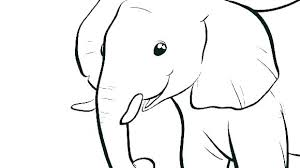 Elephant Mandala Coloring Page Of Baby Betterfor