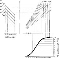 Scoliosis Chart Curve Progression Chart Follow The Childs Cobb Angle