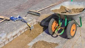 tool for laying paving slabs on a