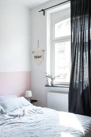 Eine Rosa Wand Für Das Schlafzimmer Neue Bettwäsche Aus Leinen Avec