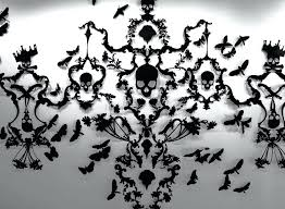 diy cut out chandelier wooden cut out chandelier paper cut out chandelier randal thurston the counting house courtesy fuller craft museum