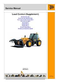 Jcb 535 125 Lifting Chart Jcb 535 140 Hiviz Load Control Supplement Service Repair