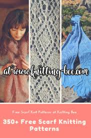 Free Scarf Patterns Stunning Scarves ⋆ Knitting Bee 48 Free Knitting Patterns