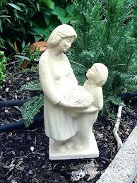 garden statues child garden statues image of mother and child garden statue mother and baby garden garden statues
