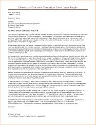 Education Cover Letters Cover Letter Template Higher Education Cover Letter