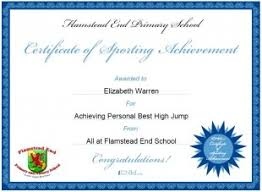 School Certificates Template Personalised Certificates For Use In Schools And Nurseries