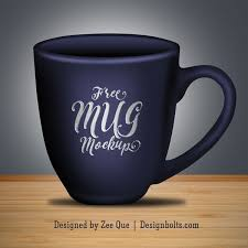 You can easily change the color of mug by applying fill and change the artwork by using smart object. Free Coffee Mug Mock Up Psd File