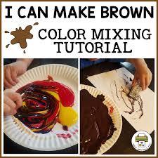 i can make brown pre k printable fun