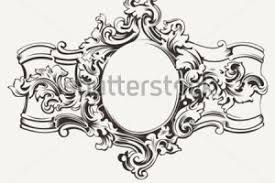 ornate hand mirror drawing. Mirror Ornate Hand Drawing