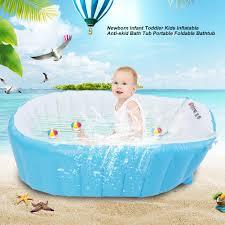 new baby kids toddler inflatable bathtub newborn thick