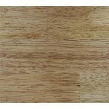 clic hardwoods natural hevea 9 16 in t x 7 5 in w x