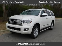 2018 New Toyota Sequoia Platinum 4WD at Fayetteville Autopark, IID ...