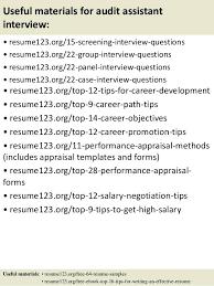 Sample Resume For Auditor Useful Materials For Audit Sample Resume