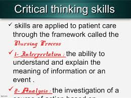 Disadvantages of critical thinking   Get Qualified Custom Writing     Allweather Refrigeration Critical thinking and clinical judgment skills are what separates nursing  from other professions  Throughout my nursing school experience I have been  pushed