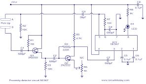 proximity detecter circuit sensors proximity detecter circuit