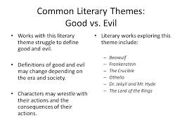 It s more than just good vs  evil