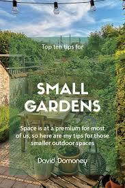 top 10 tips for small garden design to