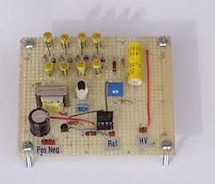 this is a high voltage power supply that produces between 400 and 1000 volts dc i must say before anything about this project if you choose to build this