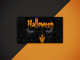 Halloween Business Cards Halloween Business Card Design By Businesscard Junction On
