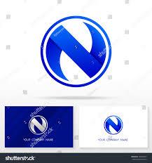 N Logo Design Vector Letter N Logo Design Vector Sign Stock Vector Royalty Free