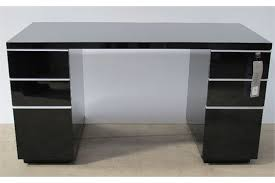 Extremely Creative Black Office Desk Excellent Ideas Gloss