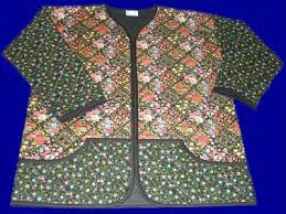 Sweatshirt to Quilted Jacket Patterns & Kits & Sweatshirt to Quilted Jacket - Floral Delight Adamdwight.com