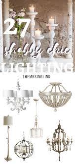 shabby chic lighting. shabby chic lighting decor to brighten your home diy