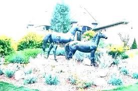 concrete lawn statues garden lion ornaments ornament landscape large metal yard for yard statues