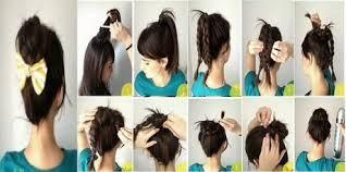 Coiffure Simple Rapide Cheveux Mi Long