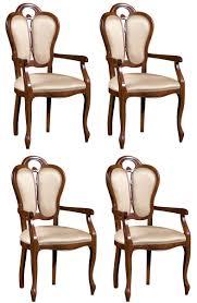 Casa Padrino Luxus Barock Esszimmer Set Braun Weiß Beige