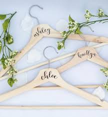 perfect wedding dress hangers personalized inspiration ideas