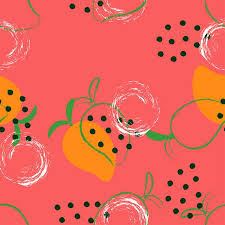 fruit wallpaper pattern. Exellent Wallpaper Seamless Abstract Mango Pattern Fruit Wallpaper Colored Background With  Exotic Fruits Stock Vector  Throughout Fruit Wallpaper Pattern