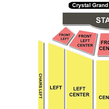 Rigorous Crystal Grand Theater Seating Chart Colosseum