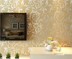 living room wall paper diy non woven wall paper hd fl modern simple wallpaper for