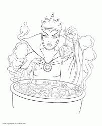 Disney coloring paint set inc. Free Disney Villains Coloring Pages Coloring Home