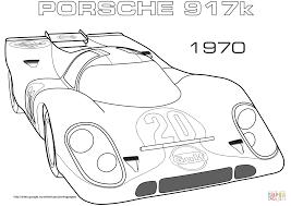 Coloriage 1970 Porsche 917k Coloriages Imprimer Gratuits