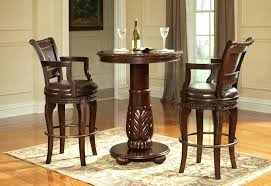bar height pub table innovative small round and chairs piece set