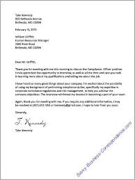 How To Write Email Cover Letter Amazing Thank You Letter After The