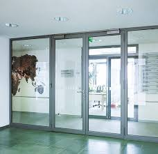 stainless steel door profile smoke proof fire rated