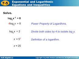 12 solve log5x 4 8