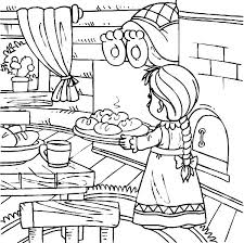 feeds 5000 coloring pages two fish and five loaves of bread page co printable