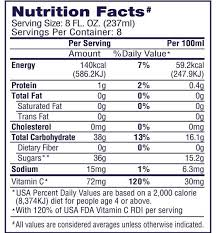 welch s concord 100 g juice grocery delivery for g juice nutrition label