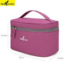 Travelsky New Portable <b>Travel Cosmetic Bag</b> Women Waterproof ...