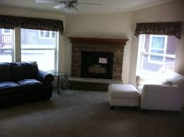 Traditional Corner Stone Fireplace Designs Fireplaces Simple Design Tile