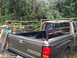 my diy side rail made from eucalyptus wood and from homemade pickup bed railshomemade pickup bed rails there wil