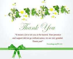 Thank You Note After Funeral To Coworkers Thank You For Sympathy Card From Coworkers Fusionrevista